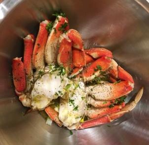 Crab in Oil