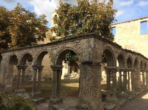 Roman ruins in St Emilion